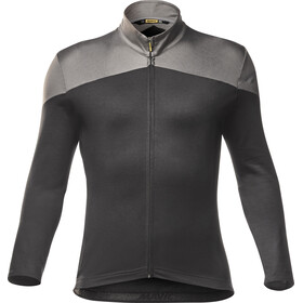 Mavic Cosmic Plain Maillot à manches longues Homme, black/smoked pearl